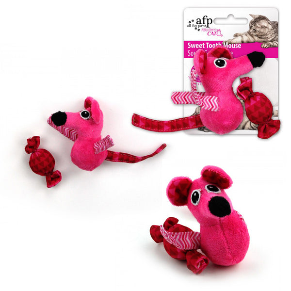All For Paws Sweet Tooth Mouse Modern Cat Toy