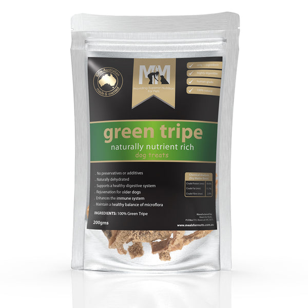 Meals For Mutts Green Tripe Naturally Rich Dog Treats