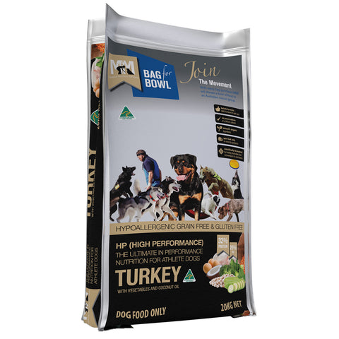 Meals For Mutts High Performance Turkey Gluten Free Grain Free Dog Food