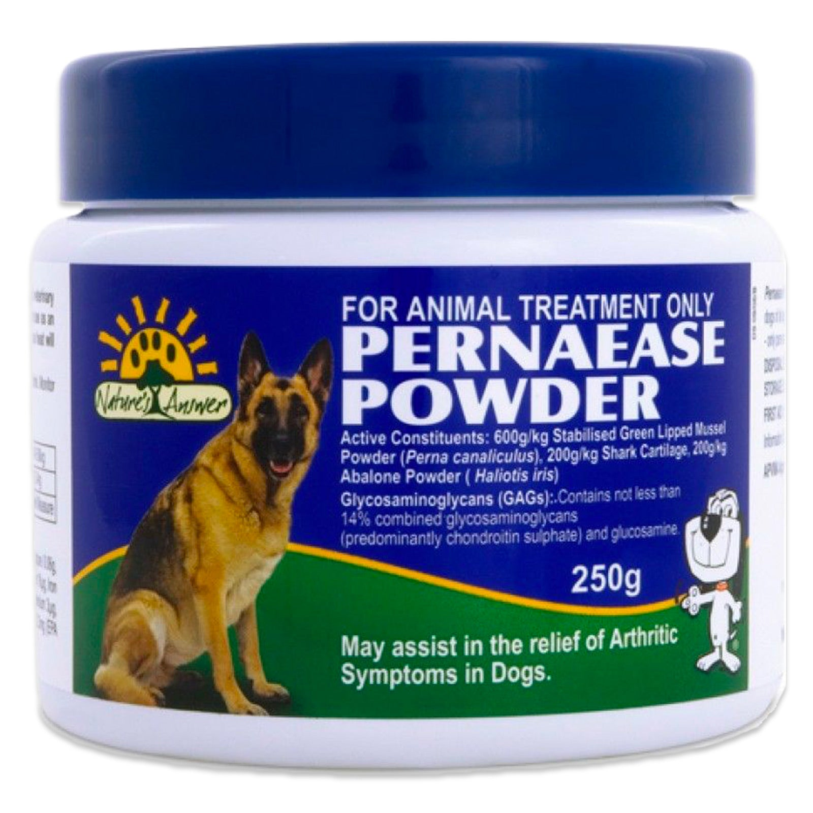 Pernaease Powder By Natures Answer 250g