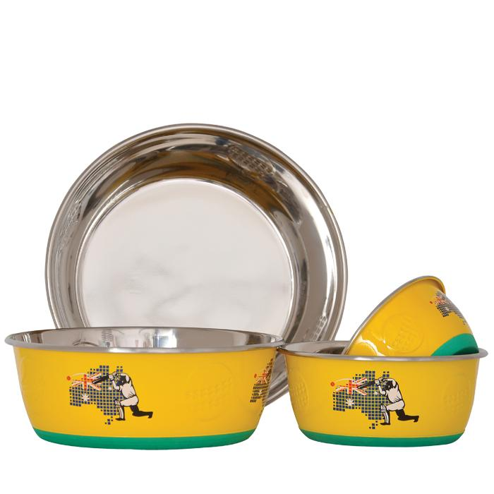 Zeez DuraPet Sports Collection Pet Bowl