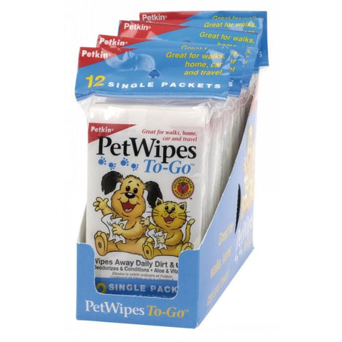 PetKin Wipes To-Go