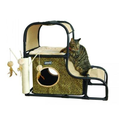 ZeeZ Cat Feline Climbing Hill Fun House