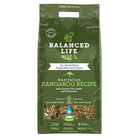Balanced Life Adult Rehydratable Dog Food - Kangaroo