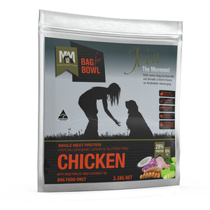 Meals for Mutts Single Protein Chicken Gluten Free Grain Free Dog Food