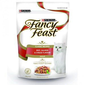 Fancy Feast Cat Food - Beef, Salmon & Cheese Flavour