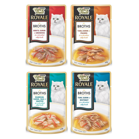 Fancy Feast Royale Broth