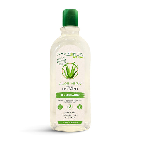 Amazonia Aloe Vera Regenerating Natural Vegan Shampoo For Dogs