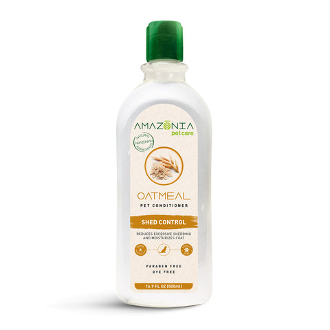 Amazonia Oatmeal Shed Control Natural Conditioner For Dogs