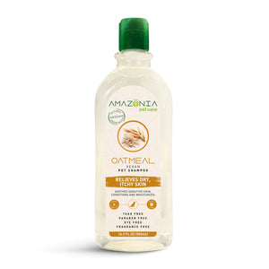 Amazonia Oatmeal Natural Vegan Dry Itchy Skin Shampoo For Dogs
