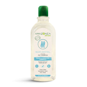 Amazonia Odour Control Natural Vegan Shampoo For Dogs