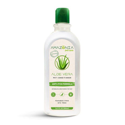 Amazonia Aloe Vera Anti-Itch Natural Conditioner For Dogs