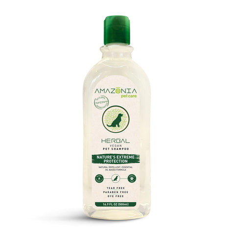 Amazonia Herbal Extreme Protection Natural Vegan Shampoo For Dogs
