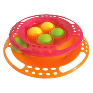 Scream Single Layer Orb Tower Cat Toy