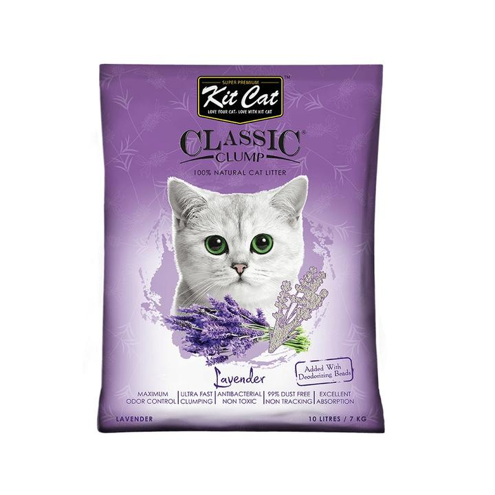 Kit Cat Bentonite Clump Litter Lavender 10L