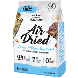 Absolute Holistic Air Dried Cat Food - Blue Mackeral & Lamb