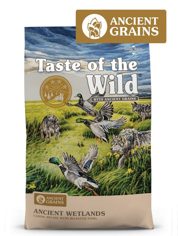Taste of the Wild Ancient Wetlands Canine Formula Dry Dog Food