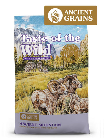 Taste of the Wild Ancient Mountain Canine Formula Dry Dog Food