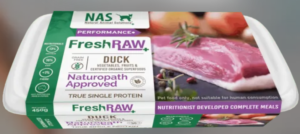 NAS Fresh RAW Duck for Cats