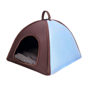 Ibiyaya Little Dome Pet Tent Bed for Cats and Small Dogs