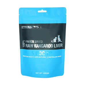 Australian Freeze Dried Raw Kangaroo Liver