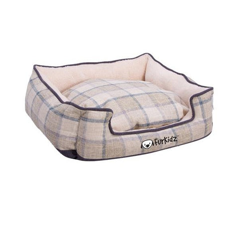 FurKidz Linen Double Colour Bed