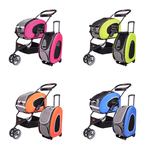 5-In-1 Combo Eva Pet Carrier / Stroller / Backpack