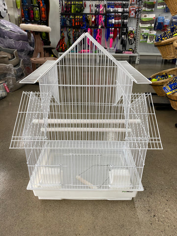 Multi Roof Bird Cage