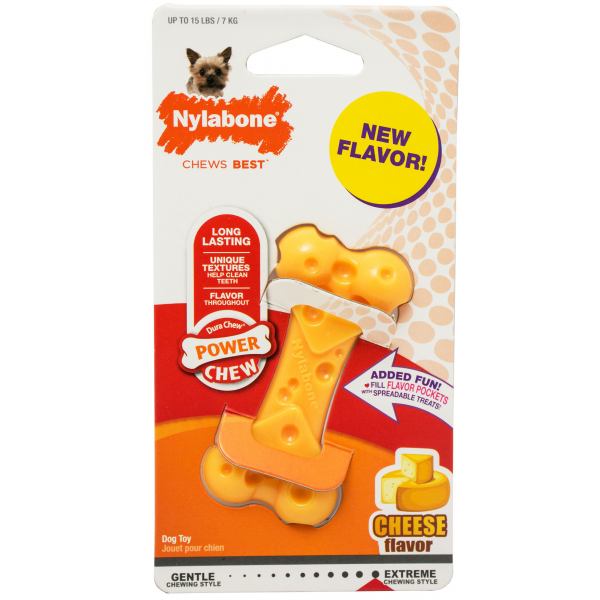 Nylabone Cheese Flavored Dog Chew Toy