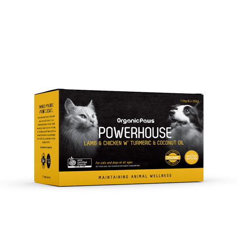 Organic Paws Powerhouse - Lamb and Chicken