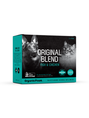 Organic Paws Original Blend - Fish and Chicken
