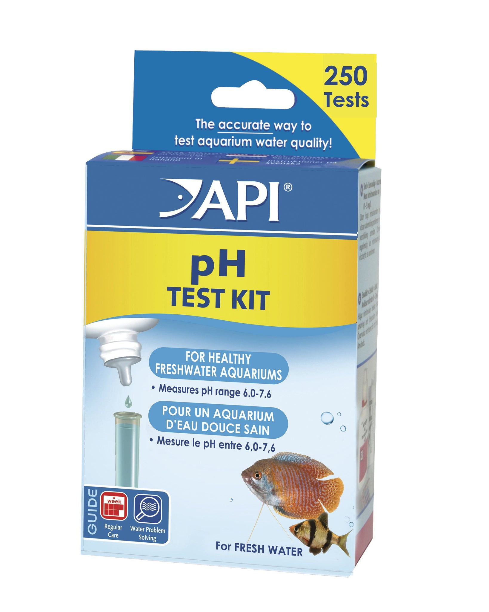 API pH Test Kit for Freshwater Aquariums