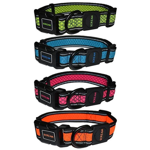Scream Reflective Adjustable Collar