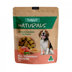Tidbits Naturals Salmon Dog Biscuits