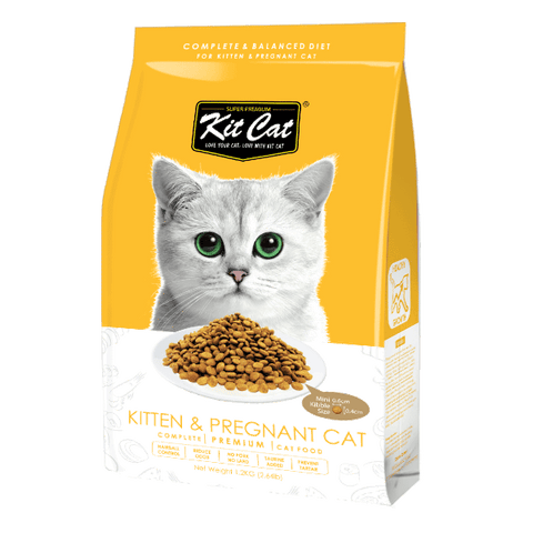 Kit Cat Premium Cat Food Kitten and Pregnant Cat