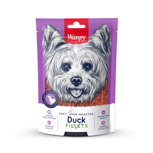 Wanpy Rawhide Dry Duck Jerky Dog Treats