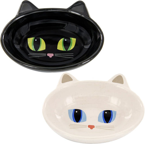 Frisky Kitty Ceramic Cat Bowl