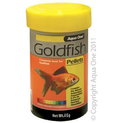 Aqua One Goldfish Pellets 1mm
