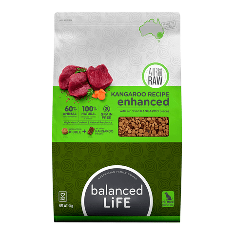 Balanced Life Enhanced Kangaroo Grain Free Dog Food