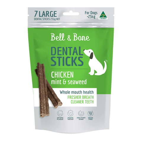 Bell and Bone Dental Sticks