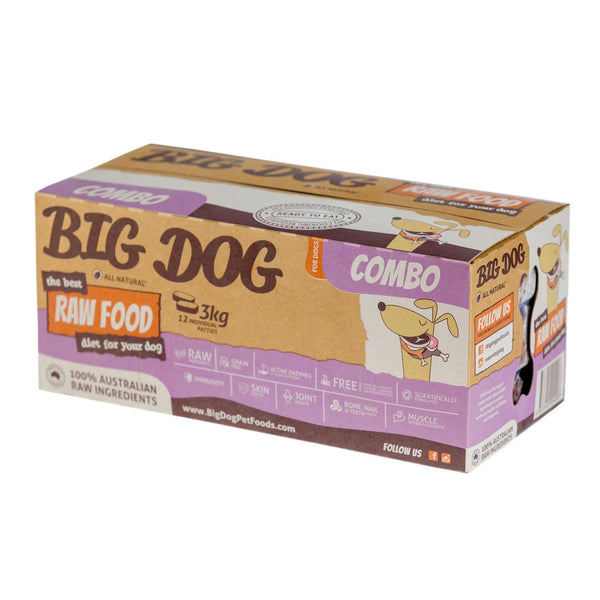 Big Dog BARF Combo Raw Dog Food