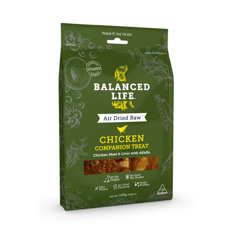 Balanced Life Companion Dog Treat - Chicken 140g