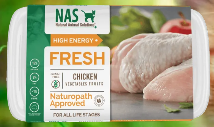 NAS Fresh RAW Chicken for Cats