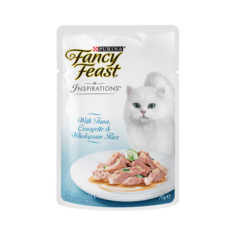 Fancy Feast Inspirations Pouches