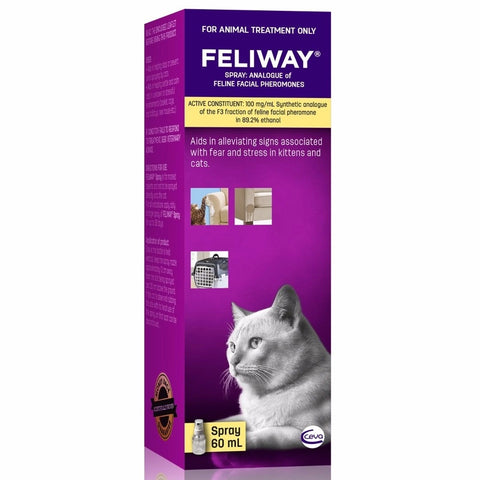 Feliway Classic Cat Calming Spray for Cats and Kittens
