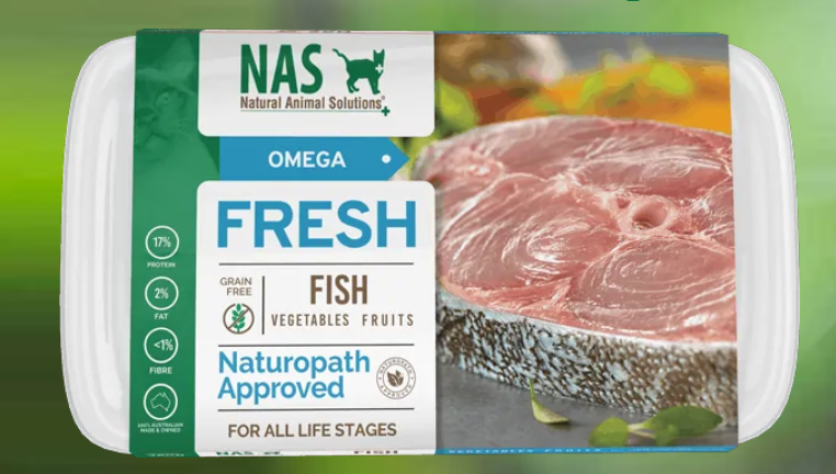 NAS Fresh RAW Fish for Cats