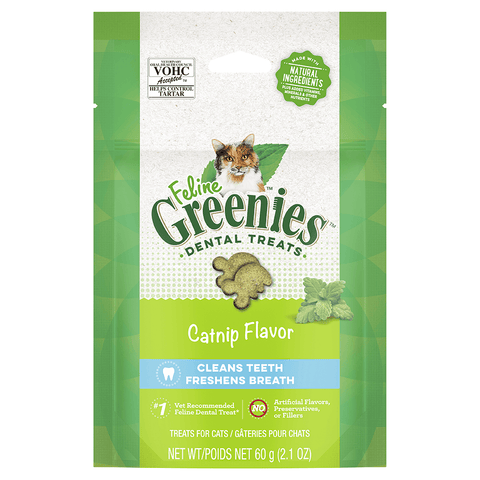 Greenies Feline Catnip Flavour Dental Chew