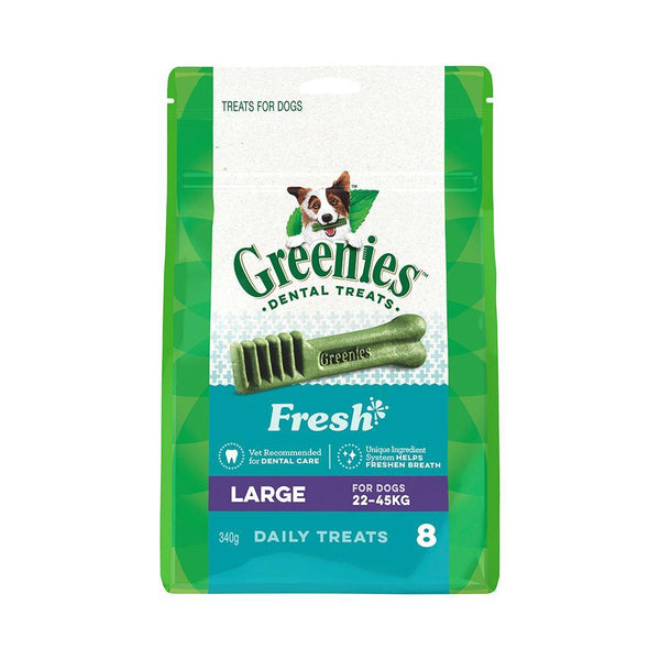 Greenies Fresh Mint Dog Dental Treats 340g