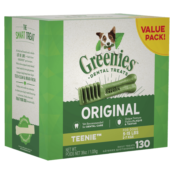 Greenies Original Dog Dental Treats Value Pack 1kg