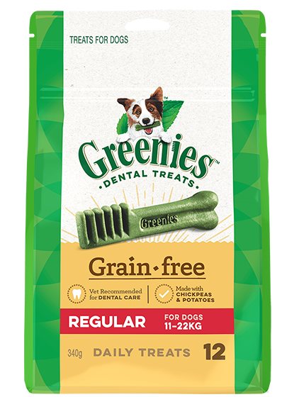 Greenies Grain-Free Dog Dental Treats 340g